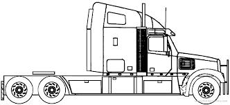 Resultado de imagem para freightliner blueprints