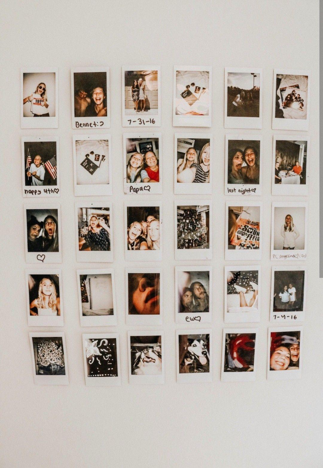 Vsco Photography Polaroid Memories Artsy Aesthetic Strangertumblr Polaroid Bilder Polaroid Room Polaroid Wall Polaroid Pictures