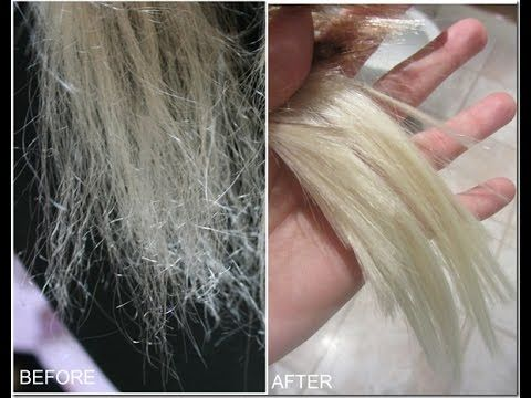 How To Repair Very Damaged Hair Youtube Hair Repair
