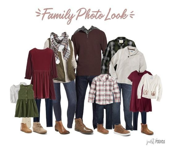 Looking & planning for what to wear for Family Pictures? Here is the great entire look featuring reds, greens & plaids!! It's a wonderful coordinating look for family photos and so easy to be mixed and matched! This would be so cute for Christmas pictures at a Christmas tree farm! This could be your families picture perfect look! #ShopStyle #shopthelook #justposted #justpostedblog #FamilyPictures #FamilyLooks #PictureOutfits #ChristmasLooks #familyphotooutfits