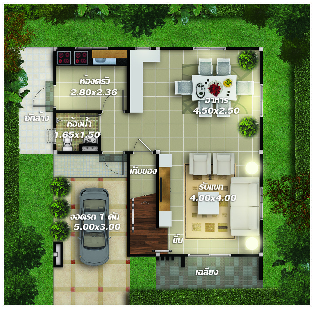 House Plans Idea 8x8 With 3 Bedrooms House Plans 3d In 2020 Home Design Plans Beautiful House Plans Bedroom House Plans