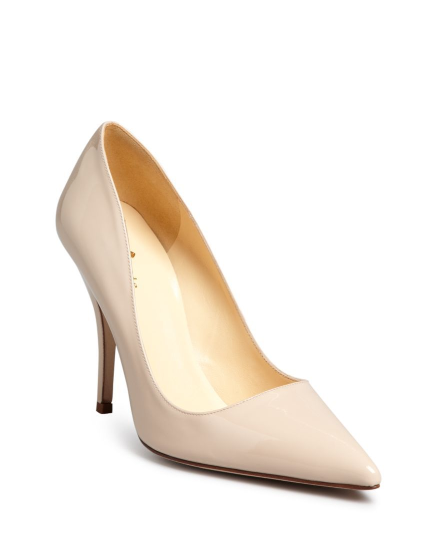 34b5205d50bd kate spade new york Licorice Patent High Heel Pointed Toe Pumps ...