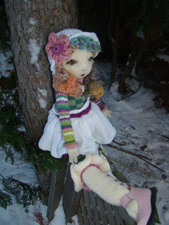 Pattern For Clementine Raggedy Lottie Ragdoll Doll By Deena6a