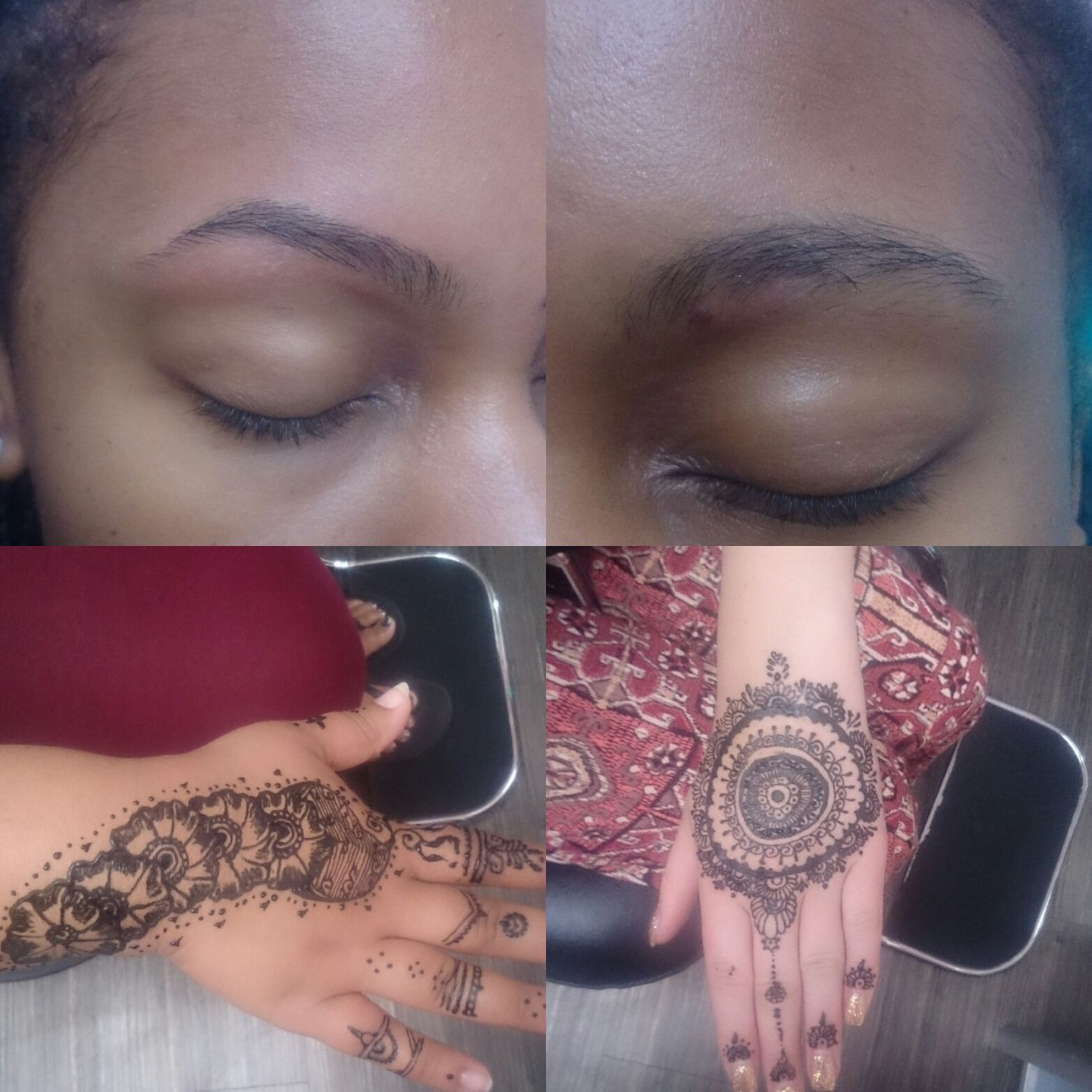 All About The Brows And Henna Services : Threading, Henna