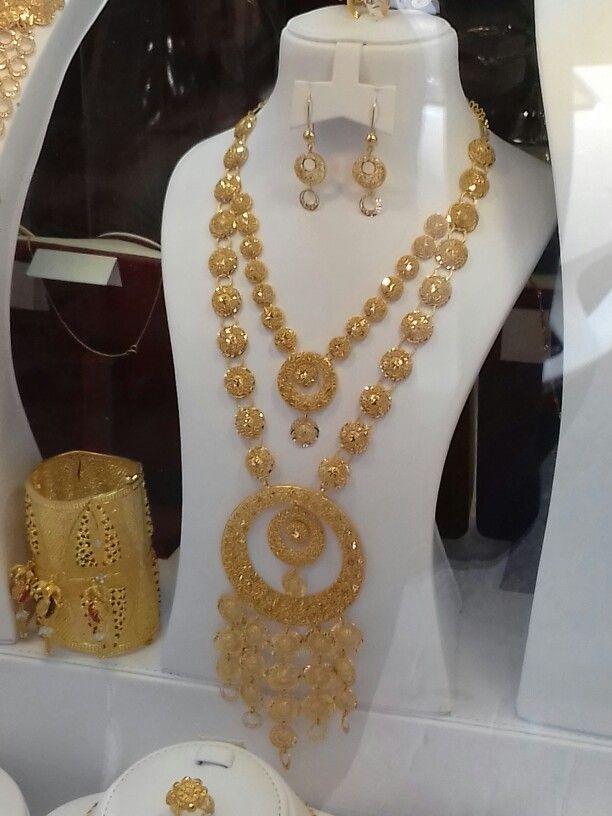 Bahrain design | Bahrain gold design | Pinterest | Gold jewellery ...