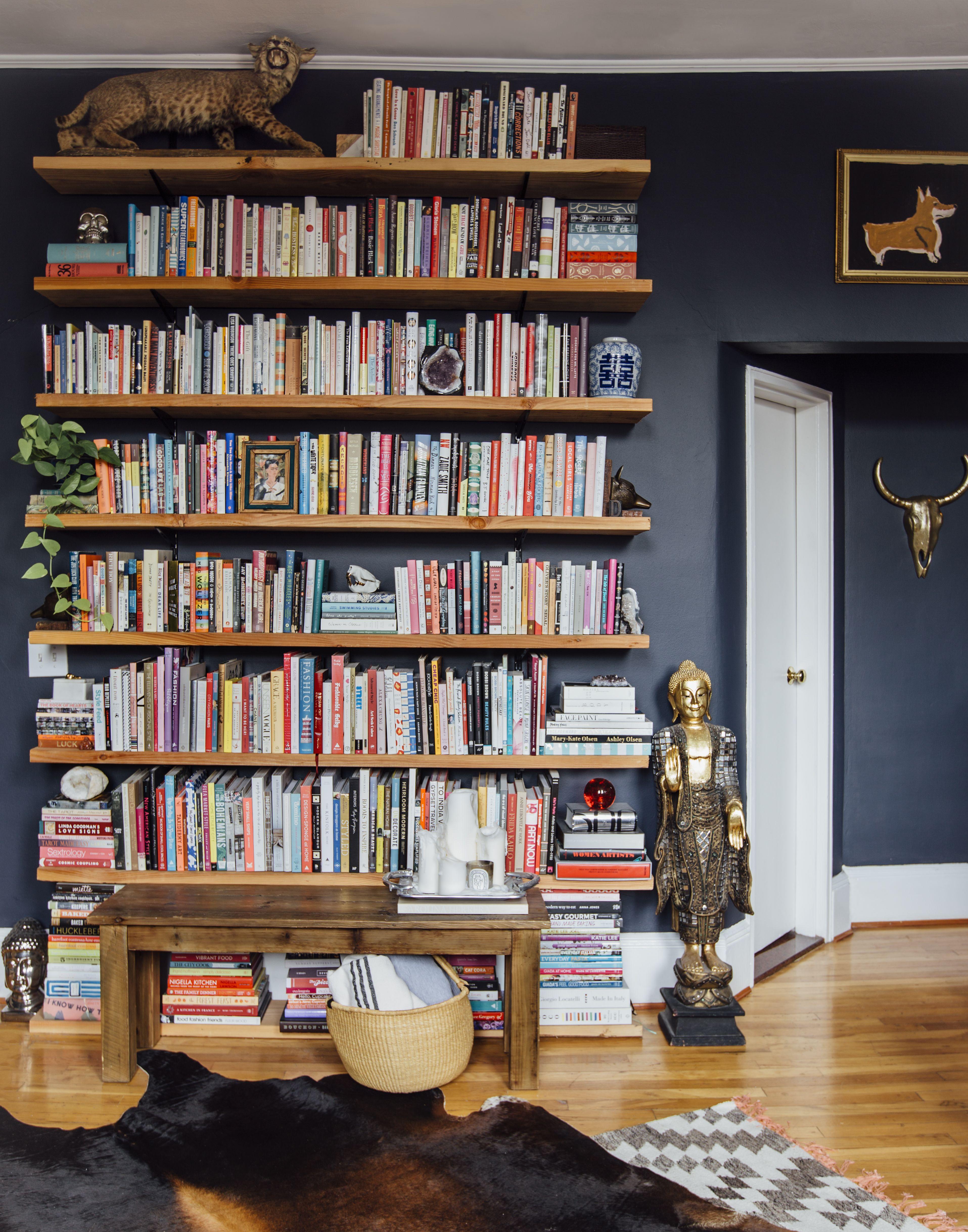 Ceiling Bookshelves