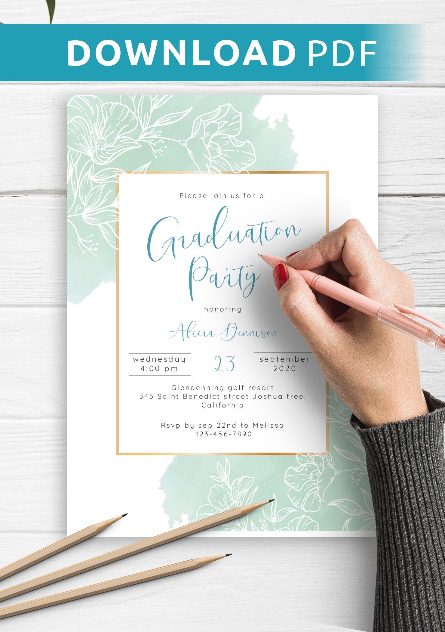 graduation invitation cards designs  customize