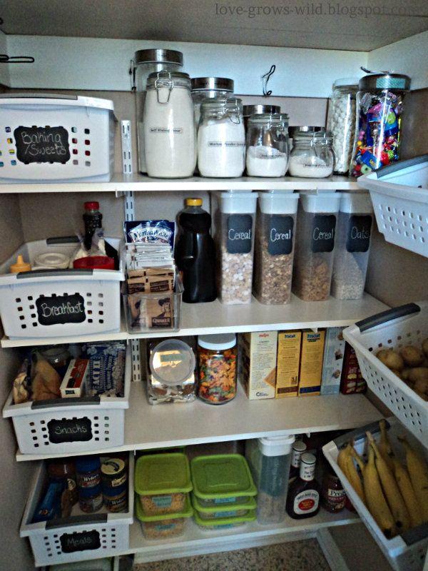 Super Organized Pantry Sst 16 Love