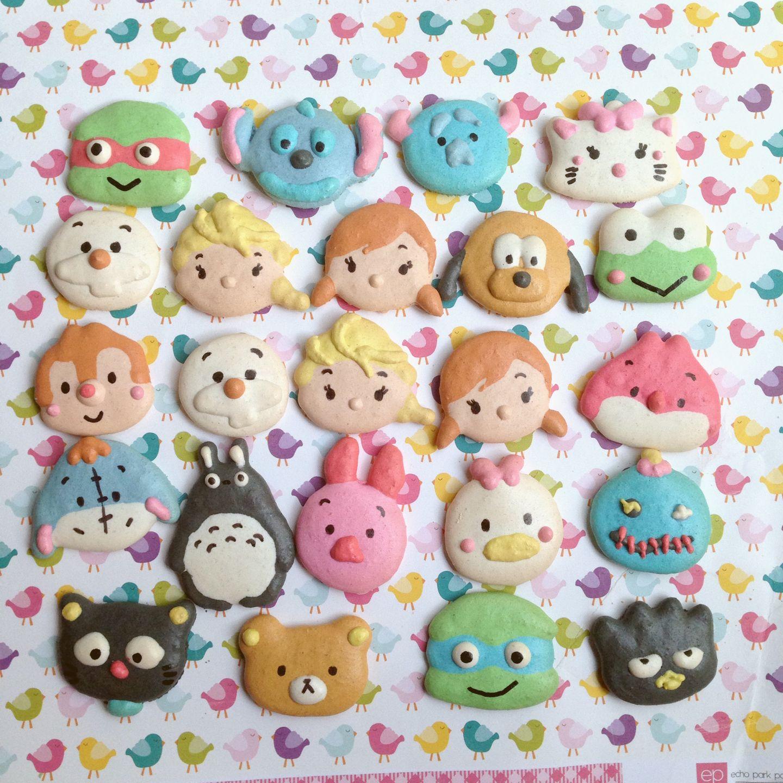 Kawaii Disney Tsum Tsum Macarons  Macaroons    Kawaii