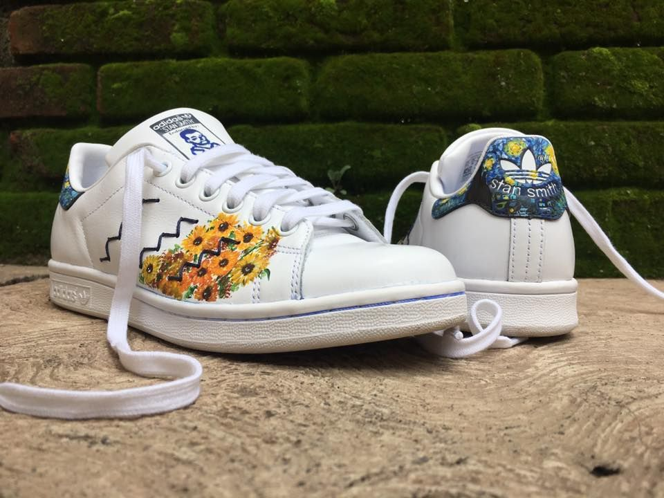 on sale ba906 6d22f Van Gogh's Stan Smith | Everything Van Gogh in 2019 | Shoes ...