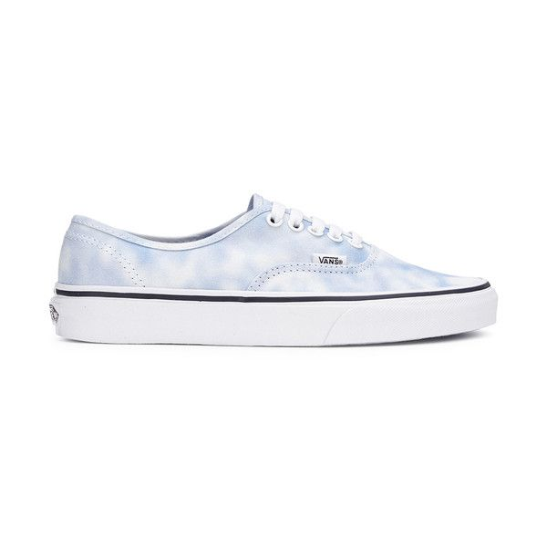 7c578d53881f50 Vans Women s Authentic Tie Dye Trainers - Palace Blue ( 75) ❤ liked on  Polyvore