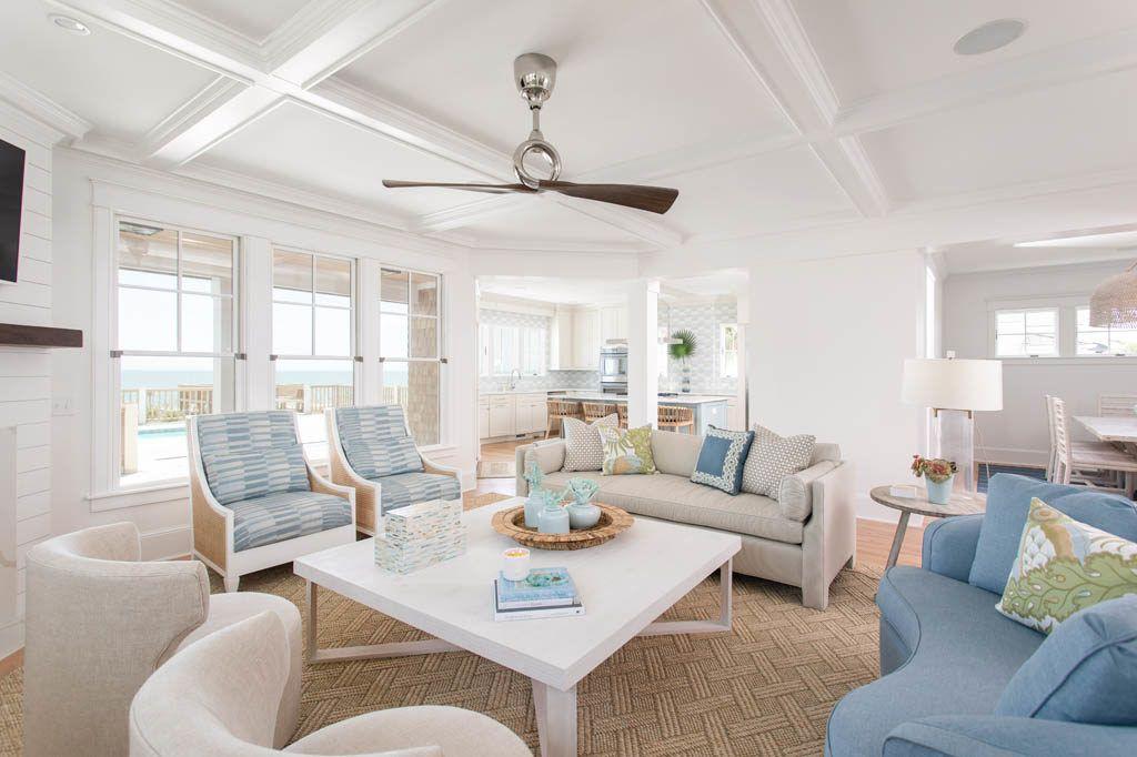 Beach House Interior Design In Kure Beach Nc Gathered Photos