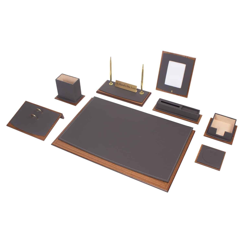 11 Teilige Schreibtisch Set Bestehend Aus 1x