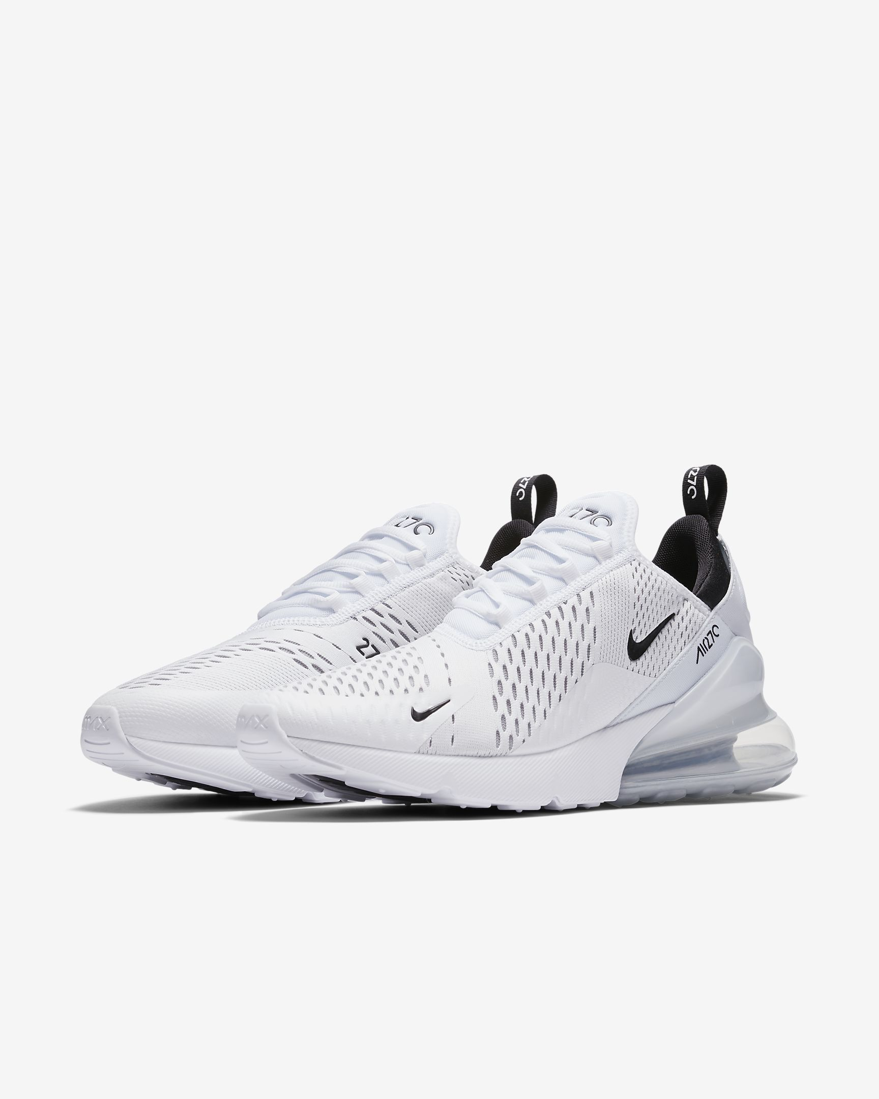 Nike Air Max 270 White  Black Sku  Ah8050