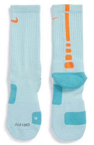 caf54cf3d39 Nike  Elite Basketball  Crew Socks. I want the orange white ones and the  blue orange