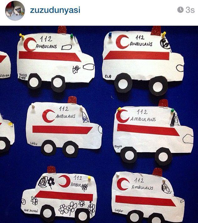 Ambulans Okul Oncesi Faaliyetler
