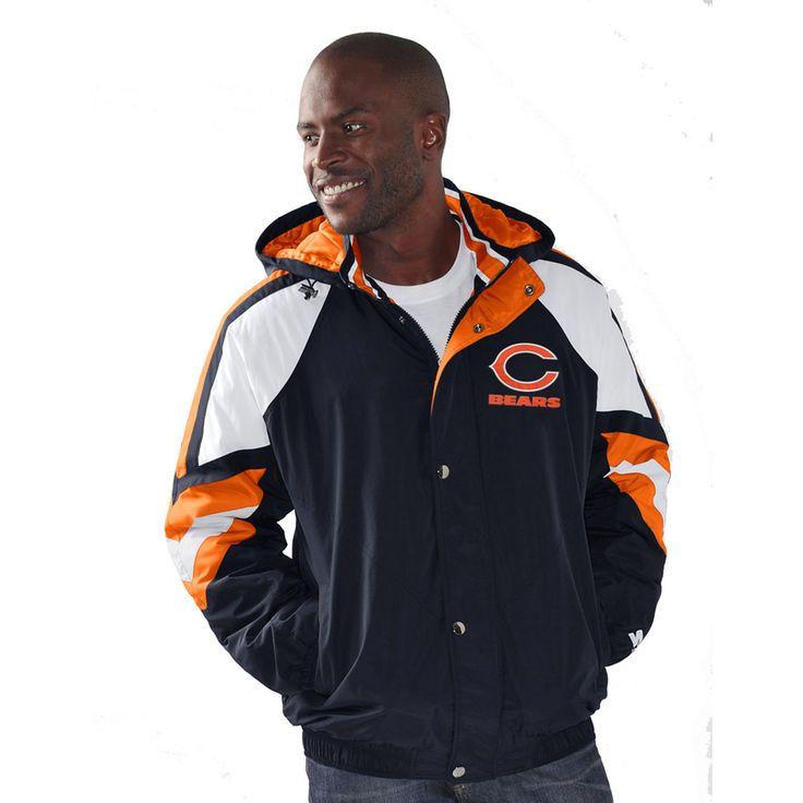 Chicago Bears Starter Pro Jacket - Navy - $97.99