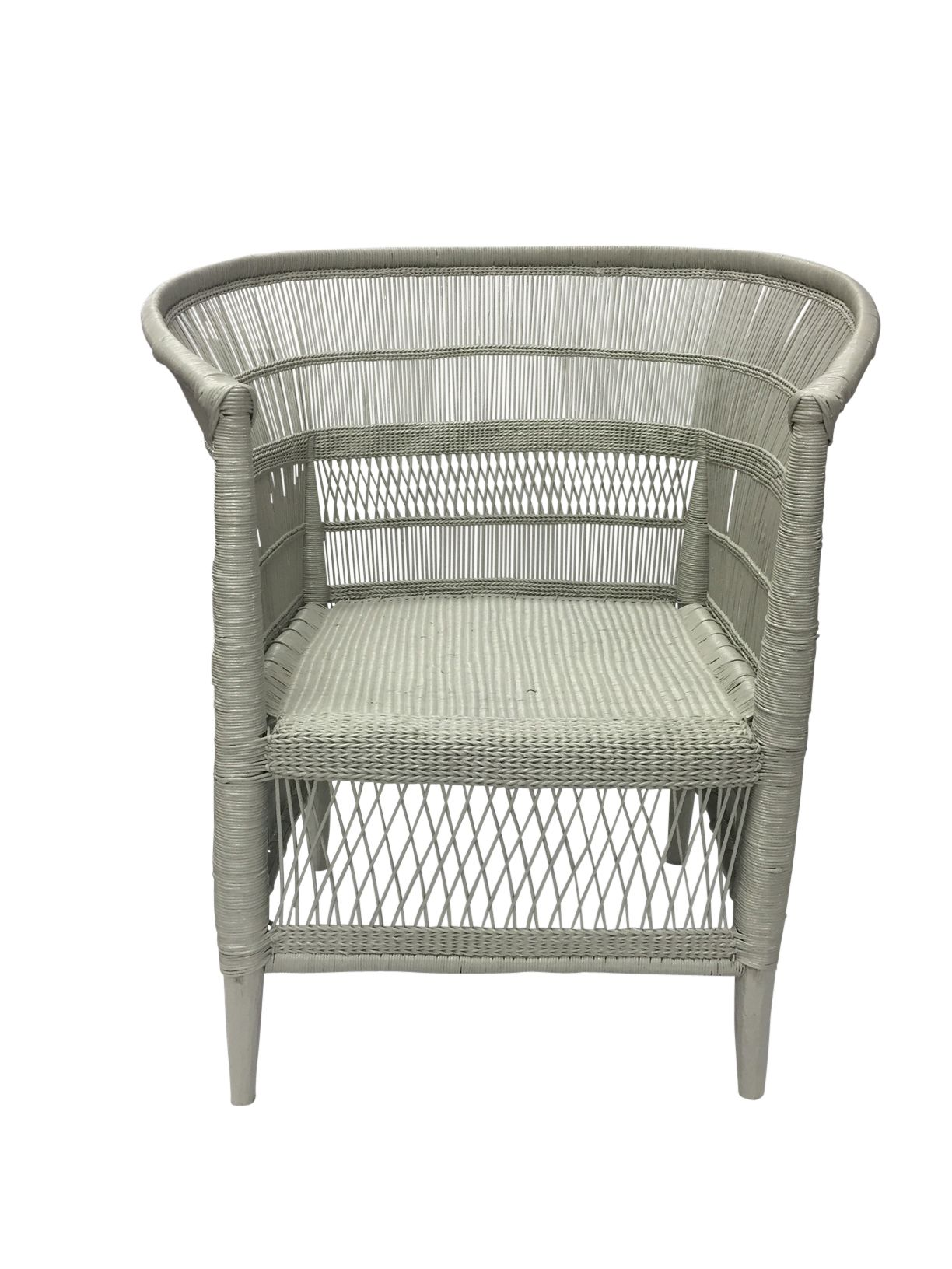 Malawi Cane Chair Grey Interior Secrets White Leather Dining