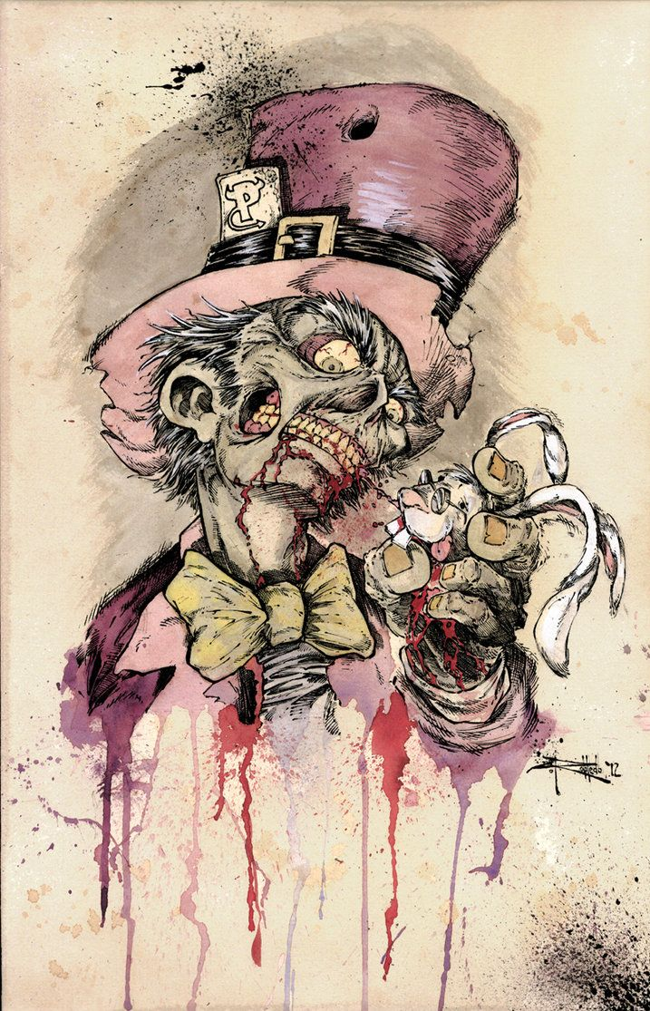 10d078cbb Zombie Mad Hatter by HankRobledo on DeviantArt | ~♡ Zombies ...