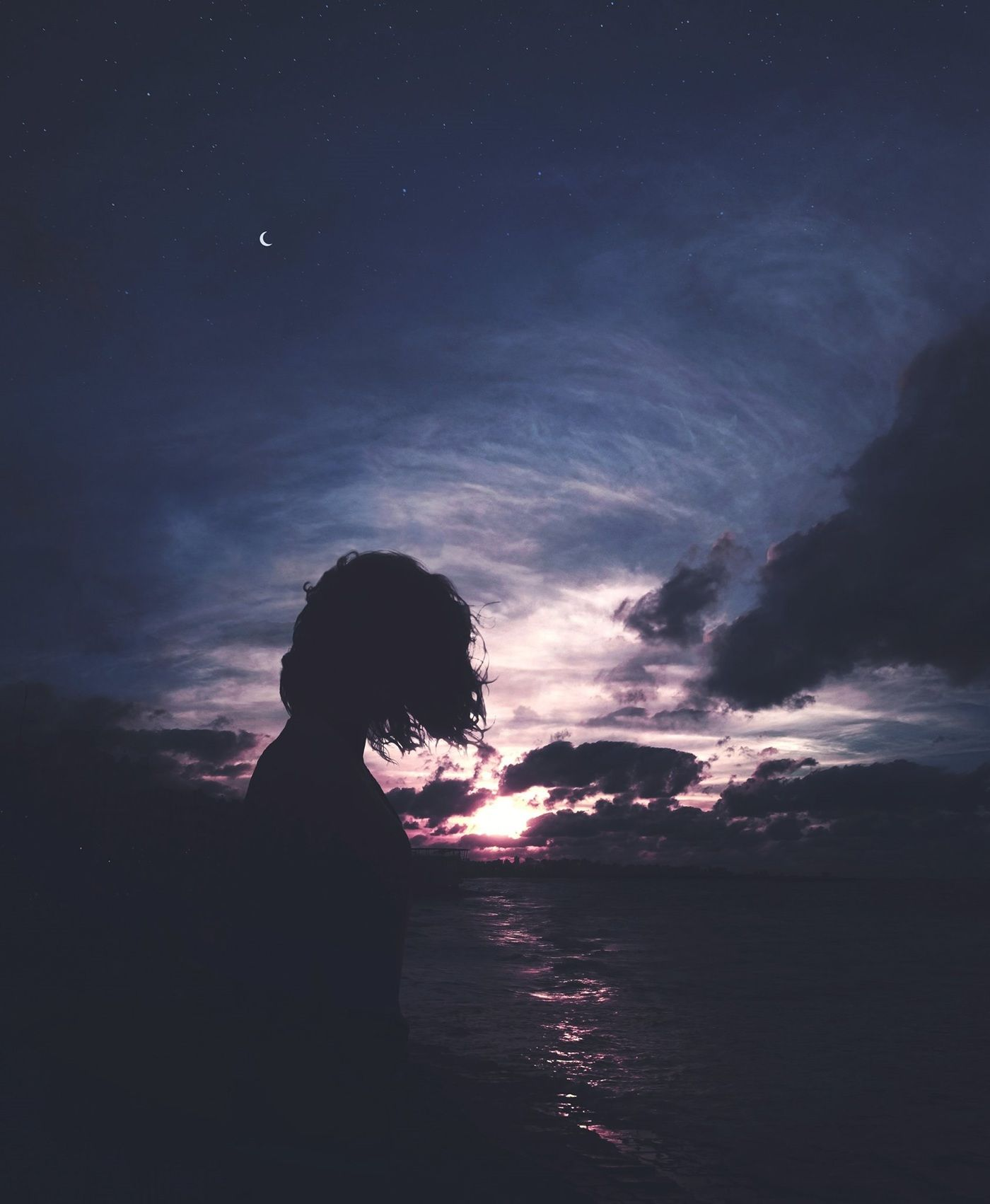 Silhouettes Iv On Behance Anime Scenery Scenery Wallpaper Silhouette Photography