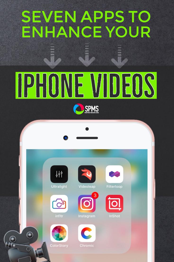 7 Apps To Enhance Your iPhone Videos | Teacherpreneurs