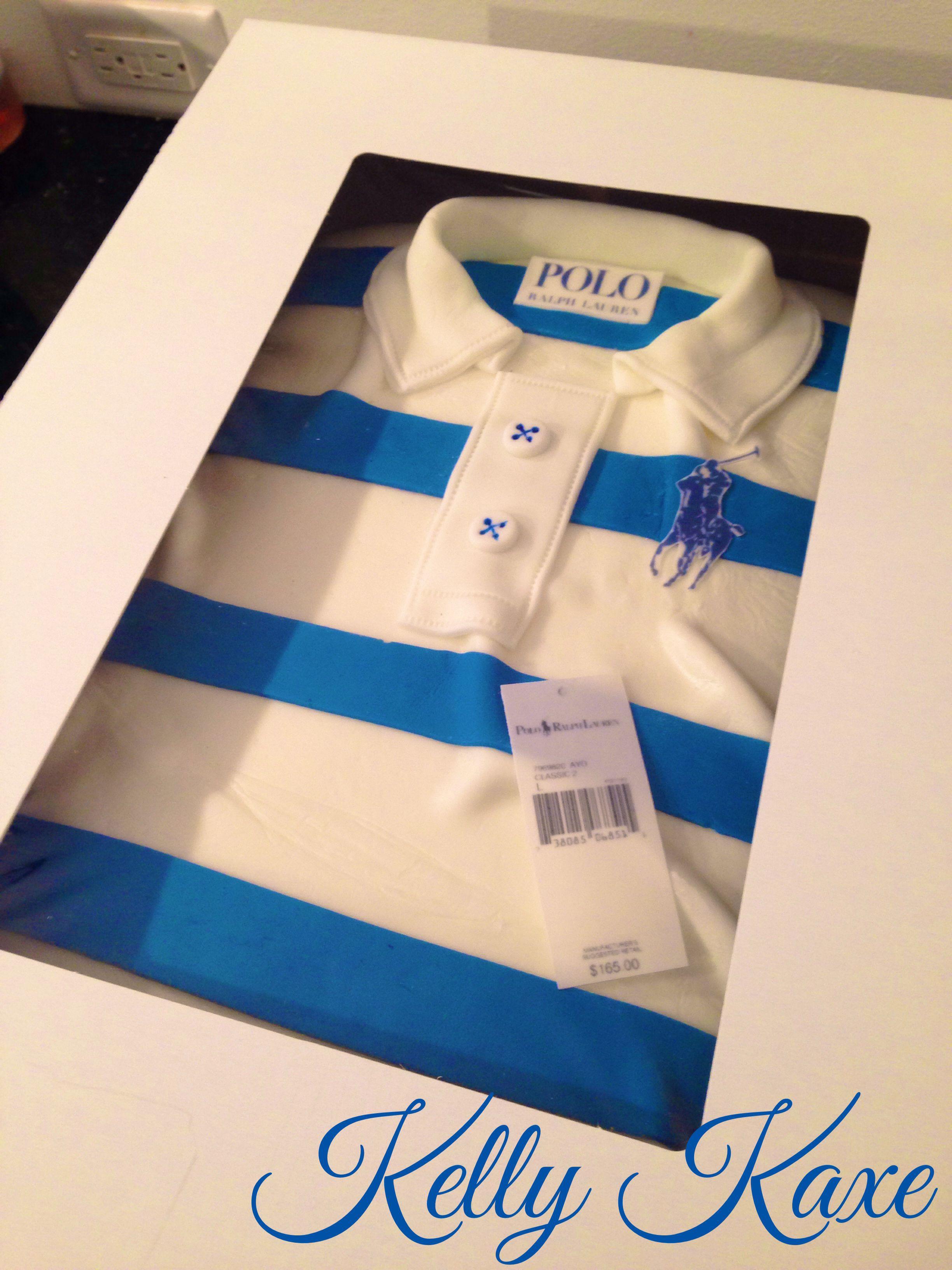 Polo Shirt Cake Polo Shirt Cake Pinterest Shirt Cake Cake And