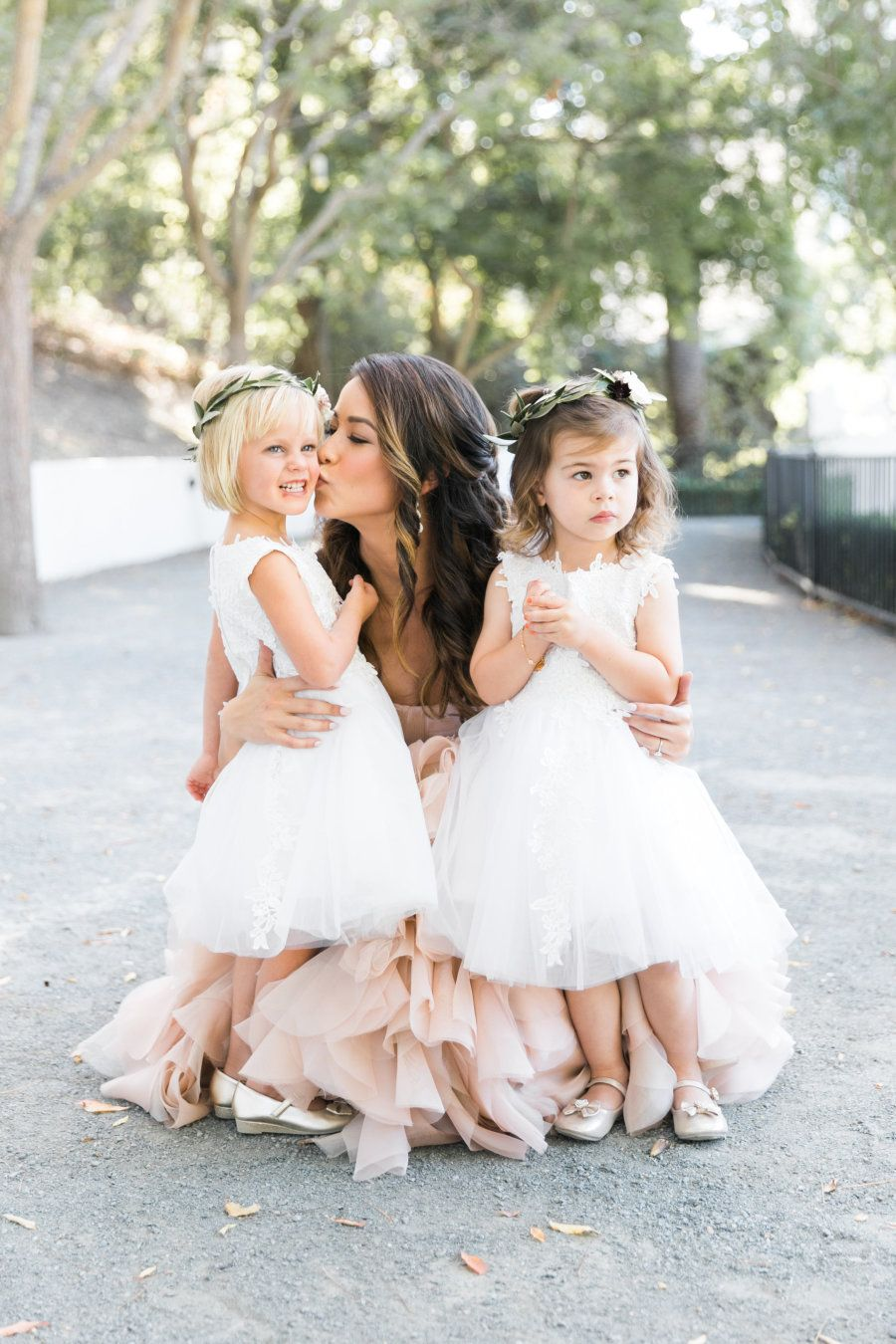 Girls wedding dress  Blush  Marsala Does It Get Any Prettier Than This  California
