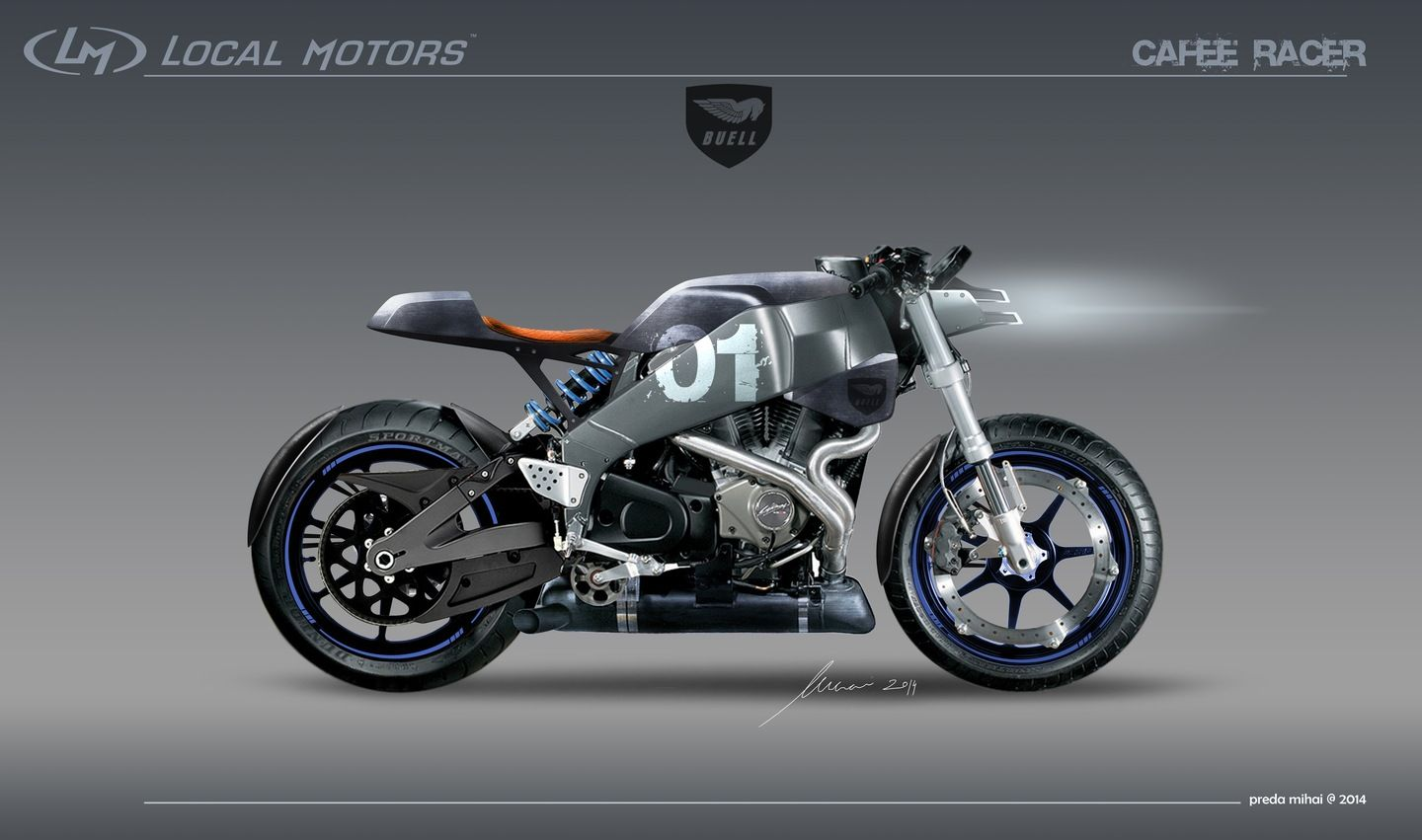 Altarf Buell Xb12ss Cafe Racer Local Motors Buell