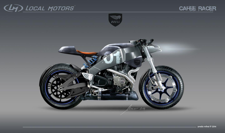 Altarf --- Buell Xb12ss Cafe Racer