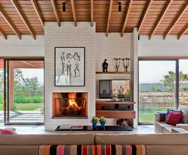 Esta casa de fim de semana ficou tão gostosa que o casal de proprietários passa metade da semana nela – e pretende se mudar de vez muito em breve.