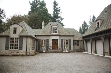 Exterior french country renovation Design Ideas, Pictures, Remodel ...