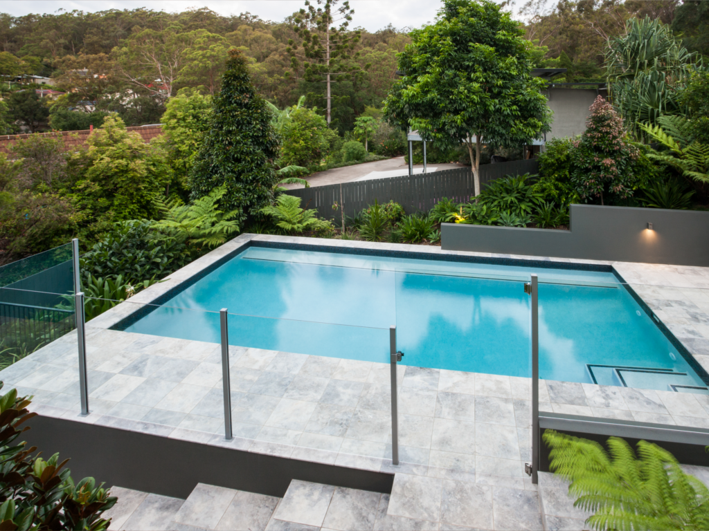 Glass Fences Railing Systems Genesis Glass Mirror Glass Pool Fencing Above Ground Pool Decks Glass Fence