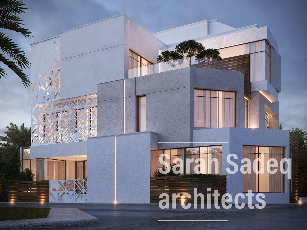 400 m private villa Kuwait Sarah Sadeq