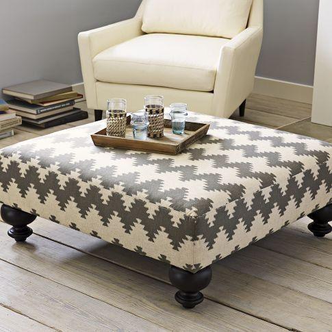 Printed Essex Ottoman Diy Furniture Home Diy Furniture