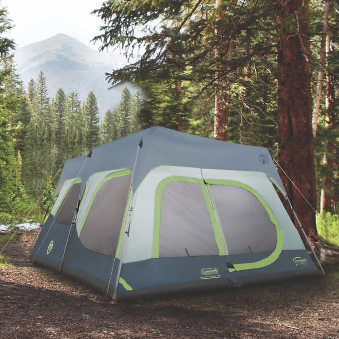 Coleman 10 Person Instant Cabin Tent Costco 189 99 Coleman Camping Tent Best Tents For Camping Cabin Camping