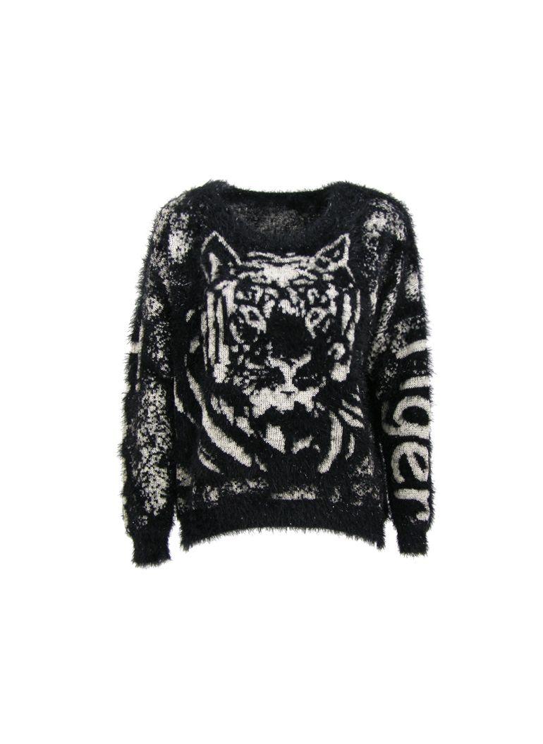Sweter Wlochaty Leopard Czarny Swetry Swetry I Bluzy Odziez Monashe Pl Sukienki Torebki Obuwie Bizuteria Sklep Online Z Modna O Fashion Sweaters