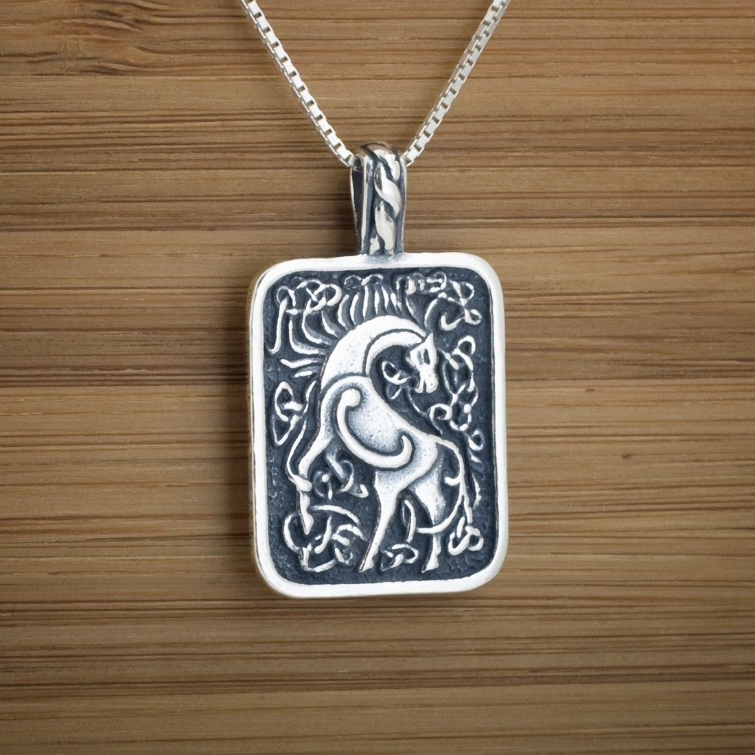 Celtic horse pendant sterling silver via etsy equine jewelry this sterling silver horse pendant is fantastically detailed with the stylized horse of the goddess epona at the center of the pendant aloadofball Gallery