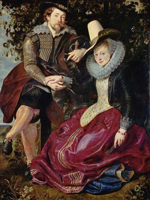 Artland Poster, Leinwandbild »Menschen Paar Malerei Braun« online kaufen   OTTO