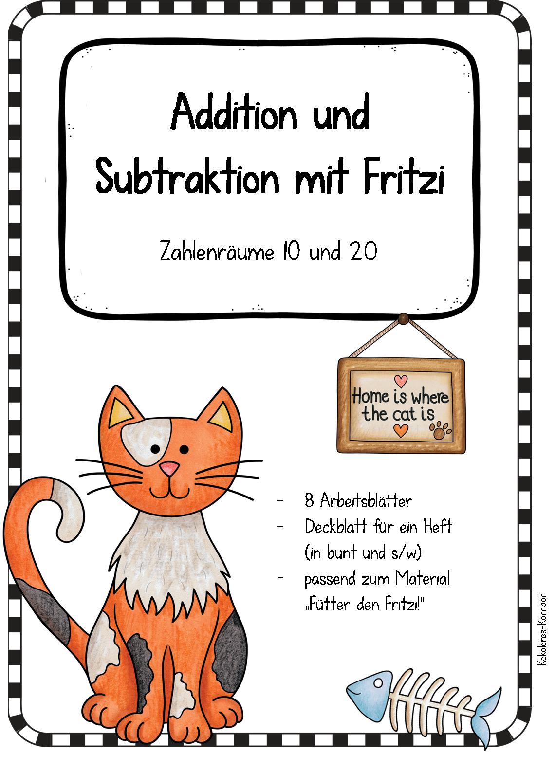 Arbeitsblätter mit Fritzi - Zahlenräume 10 und 20 – Mathematik ...