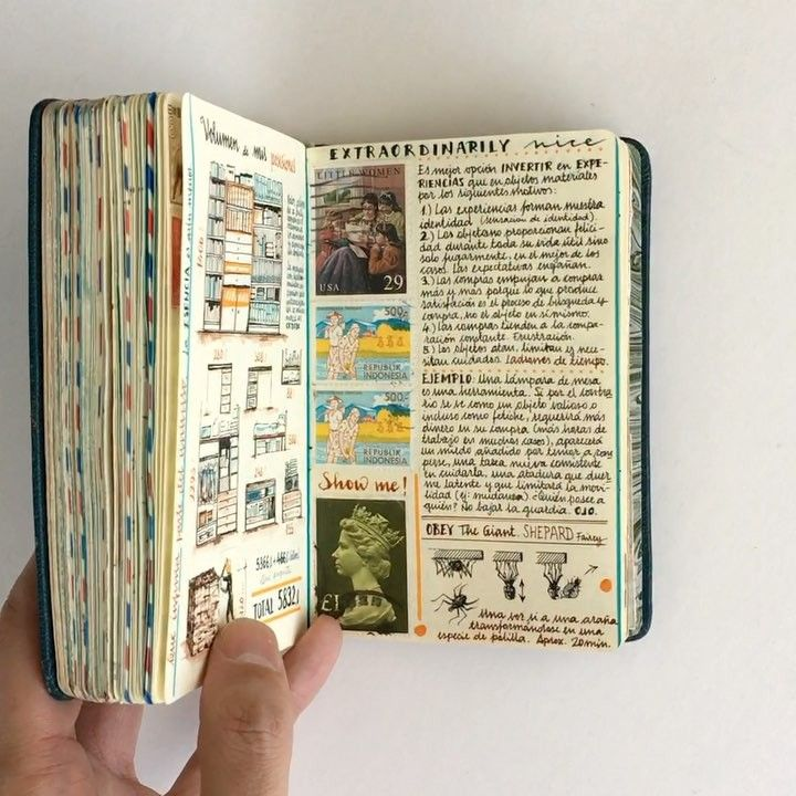 Jose Naranja's Notebooks Are Well-Traveled, Personal Artworks