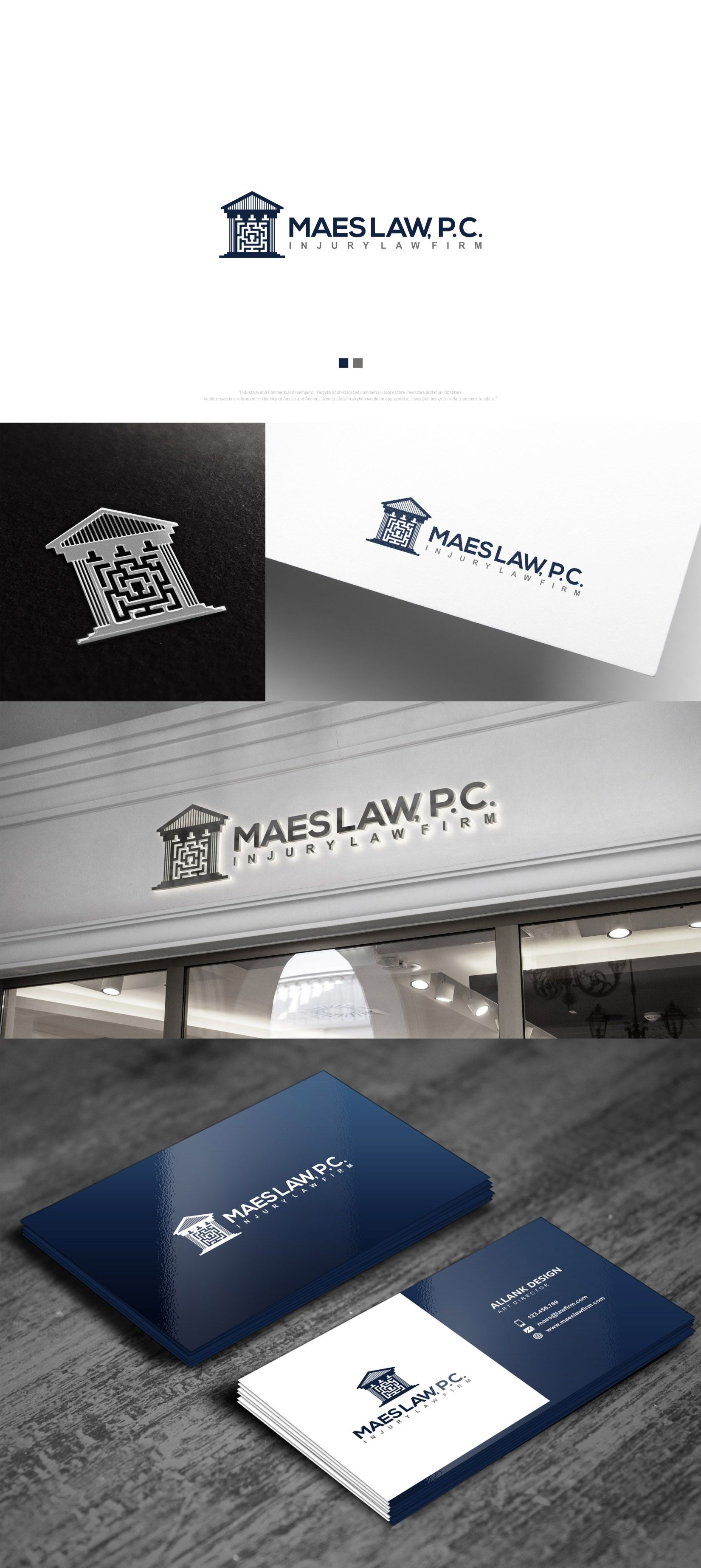 Designs Personal Injury Law Firm Needs Bold Professional Street