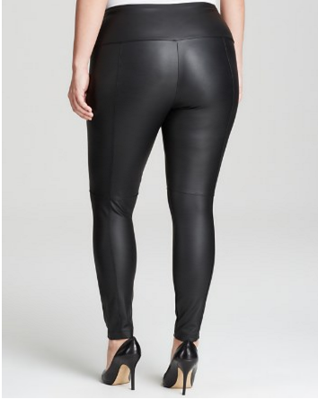 plus size leather leggings leather back | Plus Size Fashion ...