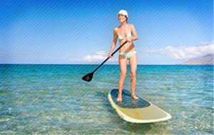 Paddleboarding In Panama City Fl Beach Paddleboard