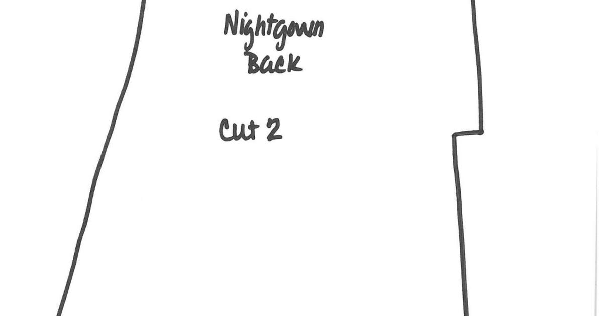 doll nightgown pattern.pdf | Muñecas | Pinterest | Muñecas