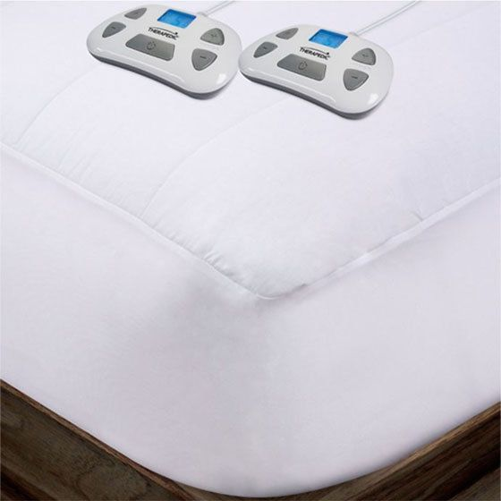 Therapedic Dual Zones Heated Ulta Soft Queen Mattress Pad