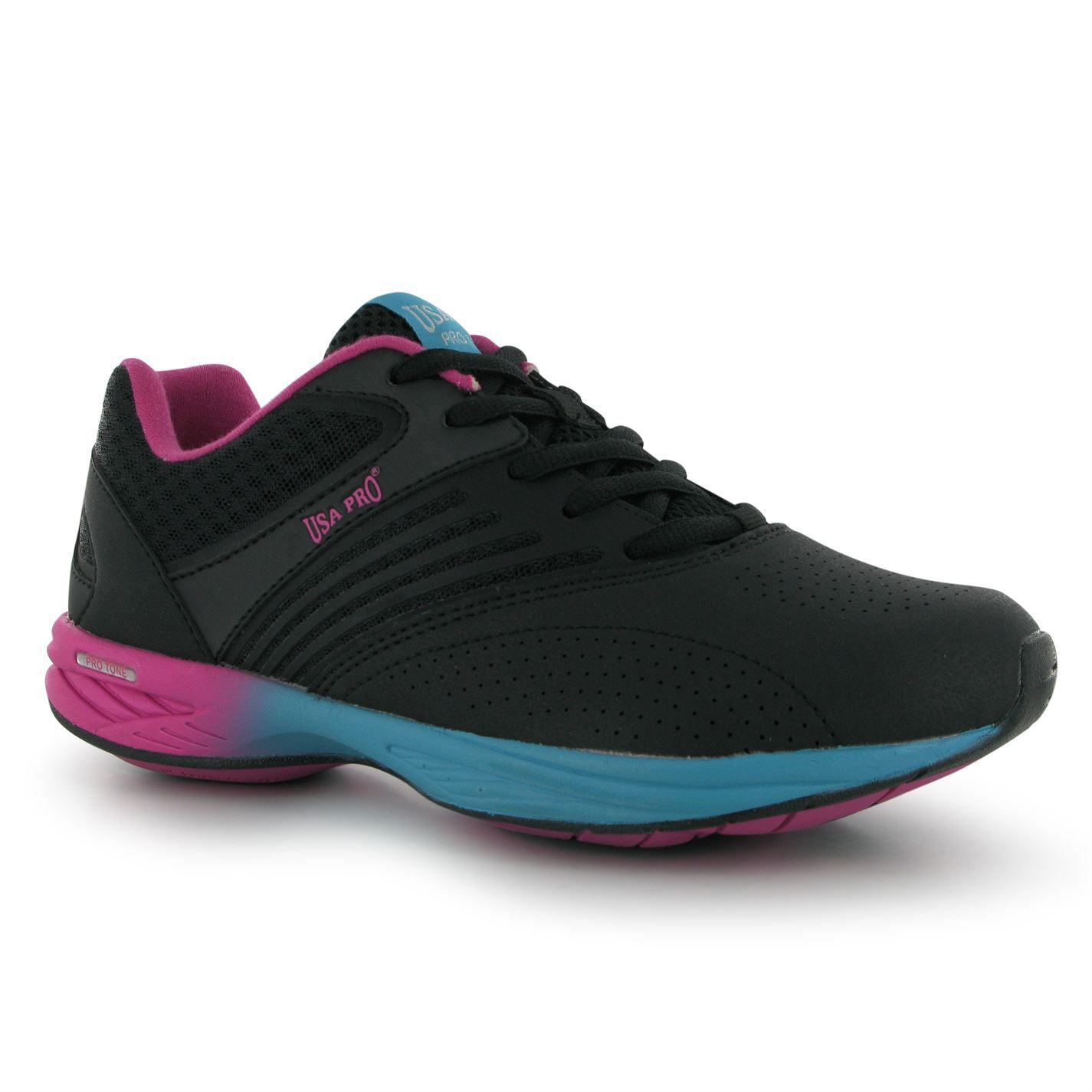 USA Pro Ladies Fitness Footwear>> Now £21 health fitness