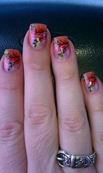 Shellac Manicure Ideas | Fall nails | Autumn nails, Fall ...