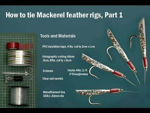 how to tie mackerel feather sea fishing lure rigs ( sabiki rigs, Reel Combo