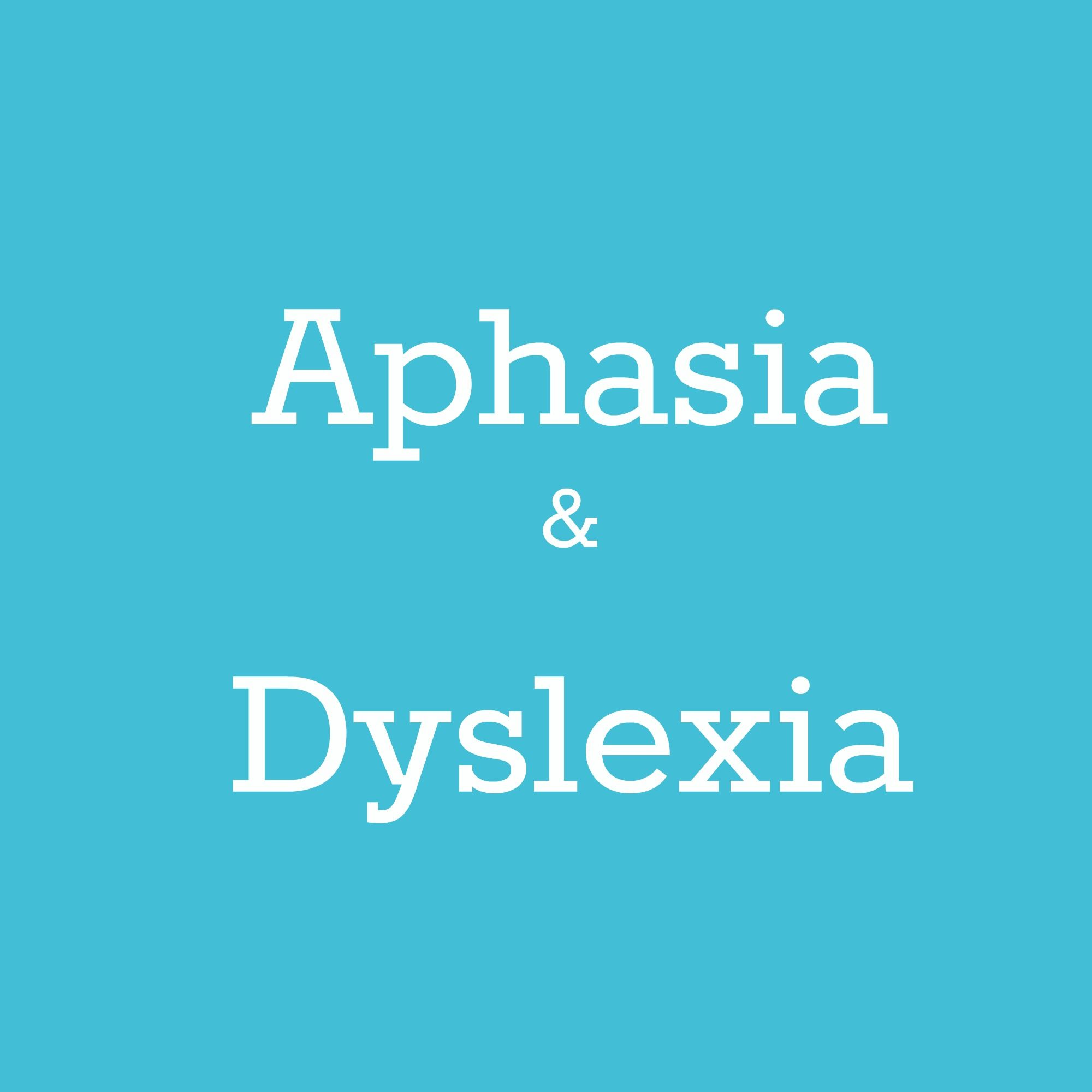 Aphasia And Dyslexia Pinterest Board Cover