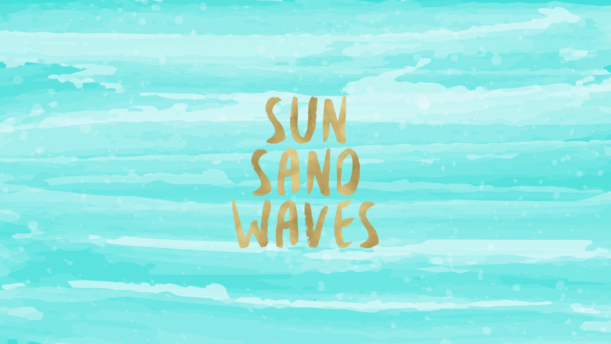 Sun sand waves free desktop wallpaper wallpapers and - Pin up desktop backgrounds ...